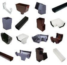 Square Line Guttering & Downpipe - Plastic Gutter Pipe Fittings Marshall Tufflex