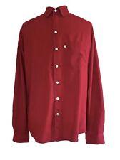 Anokhi Long Sleeve Organic Cotton Men's Shirt, Red