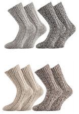 Damen Herren Schafwollsocken Winter Socken extra dick Fjord-Socken 35-38 1810181