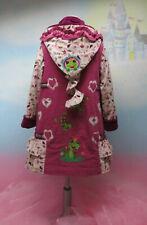 2T ZIPFELJACKE Meisje Froschkönig Frosch pink 86-140 roos farbenmix 1feenkleid