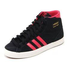 C1100 sneaker donna ADIDAS scarpa BASKET PROFI nero/fucsia shoe woman