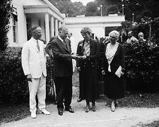 President Herbert Hoover presents medal to Amelia Earhart 1932 Photo Print