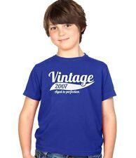 Vintage 2007 9th Birthday Childs Present Party Gift Kids Boys & Girls T-Shirt