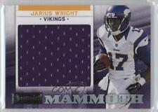 2012 Panini Playbook Rookie Mammoth Materialien 15 Jarius Wright Minnesota Vikings
