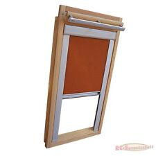 Verdunkelungsrollo mit Schienen für Velux-Dachfenster GGU/GPU/GHU/ in terracotta