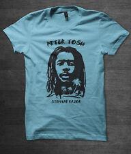 Peter TOSH Reggae T Shirt Jamaica Ska Musica DUB Bob Marley Lee Scratch Perry