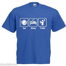 Train Weightlifter Gym Slogan Children's Kids T Shirt