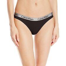 Calvin Klein Women's Radiant Cotton Thong Panty Style QD3539