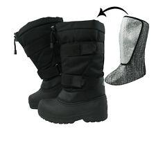 Protection thermique Bottes thermostiefel snow boots apres ski Bottes snowboots Noir