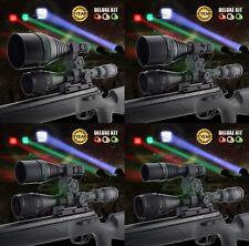 Opticfire® XS 3 LED Scope mount gun light hunting torch lamping lamp deluxe kit