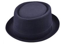 Maz Woolmix Pork Pie Hat - Navy