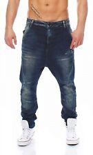 CIPO & BAXX - C-44014 - Loose Tapered - Blau Herren Jogg Jeans Hose