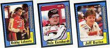 1991 Maxx Base Set Singles NASCAR Stock Car Auto Racing Trading Sports Cards