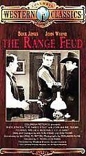 Range Feud [VHS], Good VHS, Buck Jones, John Wayne, Susan Fl, D. Ross Lederman