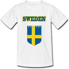 T-shirt Adulte Suède -Sweden - du S au 2XL