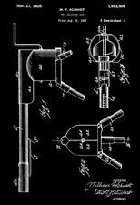 1928 - Toy Machine Gun #2 - Wyandotte - All Metal Products - Patent Art Poster