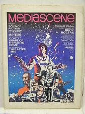 Nov/Dec 1978 MEDIASCENE PREVUE Magazine #34- BUCK ROGERS/HG WELLS/METEOR/MORE