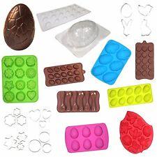 El domingo de Pascua Cocinar Hornear: molde huevos de chocolate, Cortadores De Galleta Bandeja Pastel &