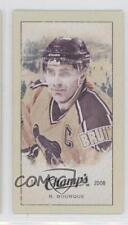 2009 Upper Deck Champ's Mini Blue Back 205 Ray Bourque Boston Bruins Hockey Card