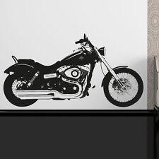 Harley Davidson Moto Vinilo Adhesivo Adhesivo Mural mb7