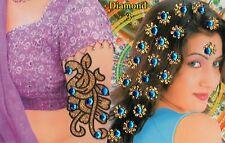 Bollywood accessoires cheveux main Tatouage bijou pour Henné Bindis en Anarkali