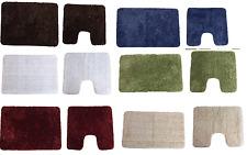 Musiche Plain moderna Sparkle Bling tappetini da bagno per Vasca da Bagno O Wc Piedistalli assorbire