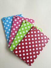 Soft Plastic Spotty Back Case For iPad Mini 1 2 3