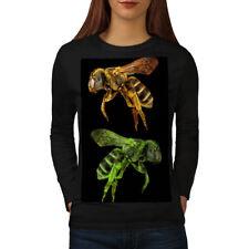 Bee Bug Insect Art Animal Women Long Sleeve T-shirt NEW   Wellcoda