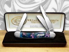 CASE XX Engraved Bolster Series Lolly Pop Corelon Stockman Pocket Knives Knife