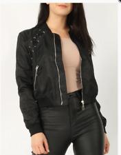 NEW Bomber Jacket * Lace and Eyelet Women