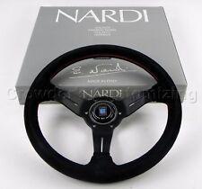 Nardi Steering Wheel Deep Dish Corn 330 mm Black Suede Leather Classic Horn