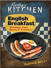 English Breakfast metal fridge magnet (na)