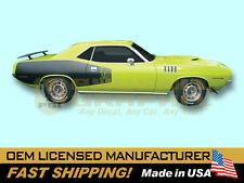 1971 Plymouth Barracuda 'Cuda 340 383 440 HEMI Decals & Billboard Stripes Kit