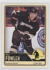 2012-13 O-Pee-Chee #191 Cam Fowler Anaheim Ducks (Mighty of Anaheim) Hockey Card