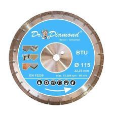 Dr. Diamond® Diamanttrennscheibe Beton BTU Trennscheibe 10mm Segmenthöhe