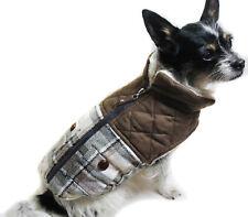 Hundejacke Hund Mantel XS M L Weste braun Neu Winter warm