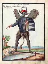 """Compendium Rarissimum : """"Asmodeus"""" (c.1775) — Giclee Fine Art Print"""