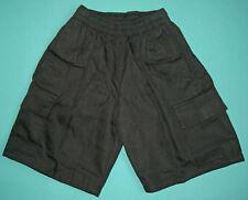 NEW school uniform Cargo Shorts Black size 5 to 16