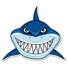 Shark Teeth Car Vinyl Sticker - SELECT SIZE