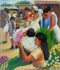 "Nicaraguan Artist Painter named ""Manzanares"""