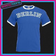 Berlín Timbre Retro divertida camiseta