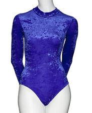 All Colours Dance Gymnastics Velour Velvet Long Sleeve Leotard KDGV018 By Katz