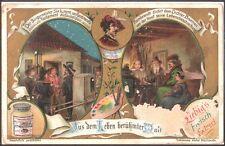 ANTICA FIGURINA LIEBIG - PITTORI CELEBRI - REMBRANDT - 1904 EDIZIONE TEDESCA