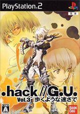 .hack//G.U. Vol. 3: Aruku Youna Hayasa de SLPS25656 PlayStation2 JAPAN OBI