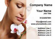 Beauty Massage Treatment Spa Salon Personalised Business Cards