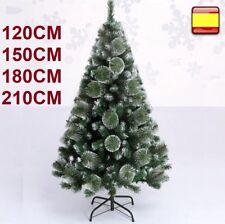 Arbol de navidad verde nieve 90, 120, 150, 180, 210 cm pino nevado SUPER OFERTA