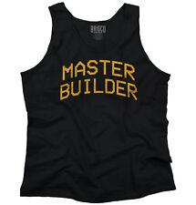 Master Builder Mine Craft Funny T Shirt Humorous Novelty Gift Tank Top Shirt