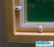 DIY Secondary Glazing Kit - Glazing Panel + Easyfix / Clipglaze Kit 5m
