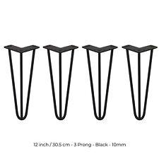 4 Patas de Horquilla para Mesa SkiSki Legs en Acero Inoxidable de 30,5cm