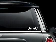 Angry Cartoon Eyes # 5  Die Cut Vinyl Car Window Decal Bumper Sticker US Seller